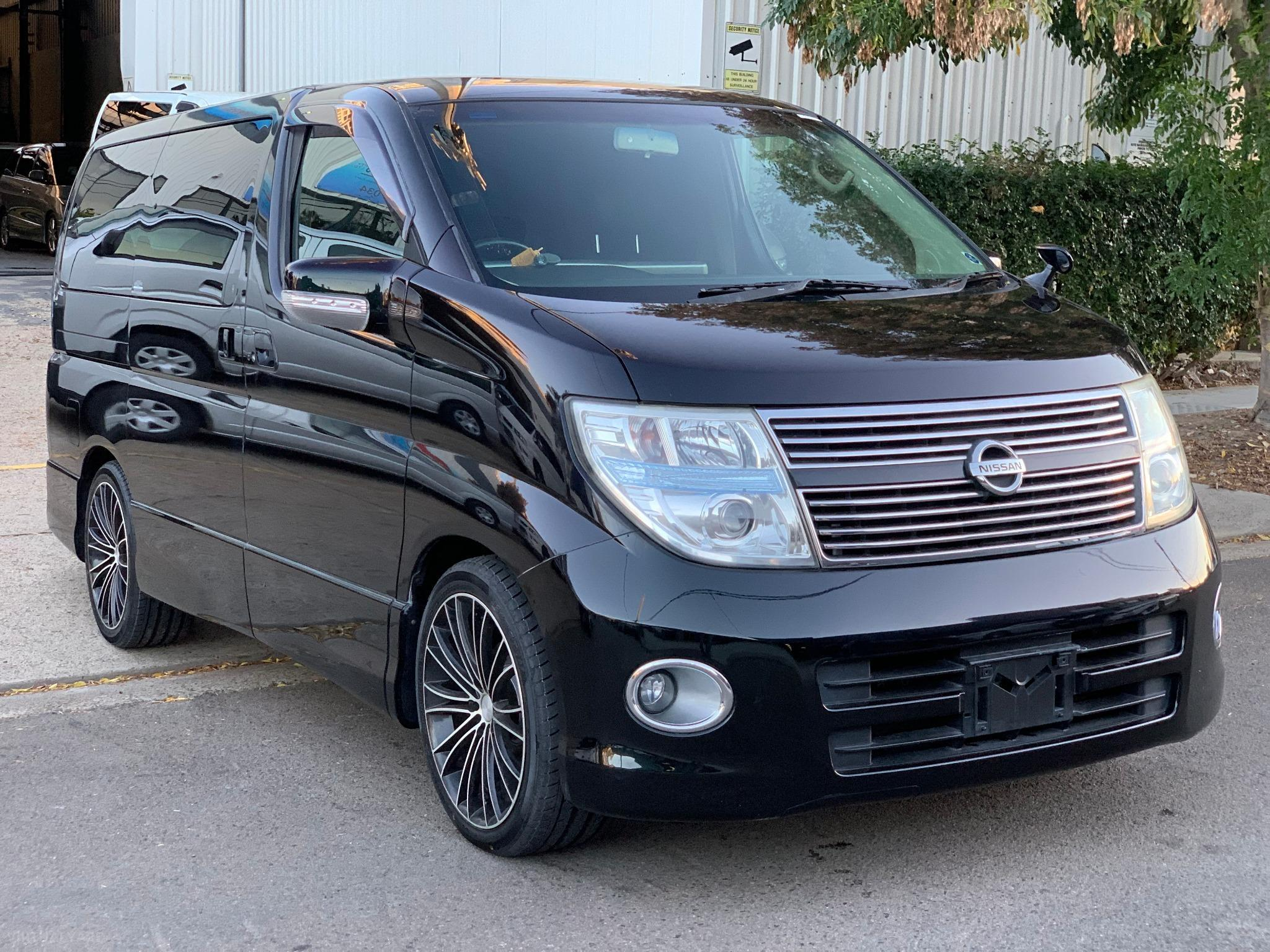 Nissan Elgrand E51 Highwaystar Premium Wagon 8st 5dr Auto