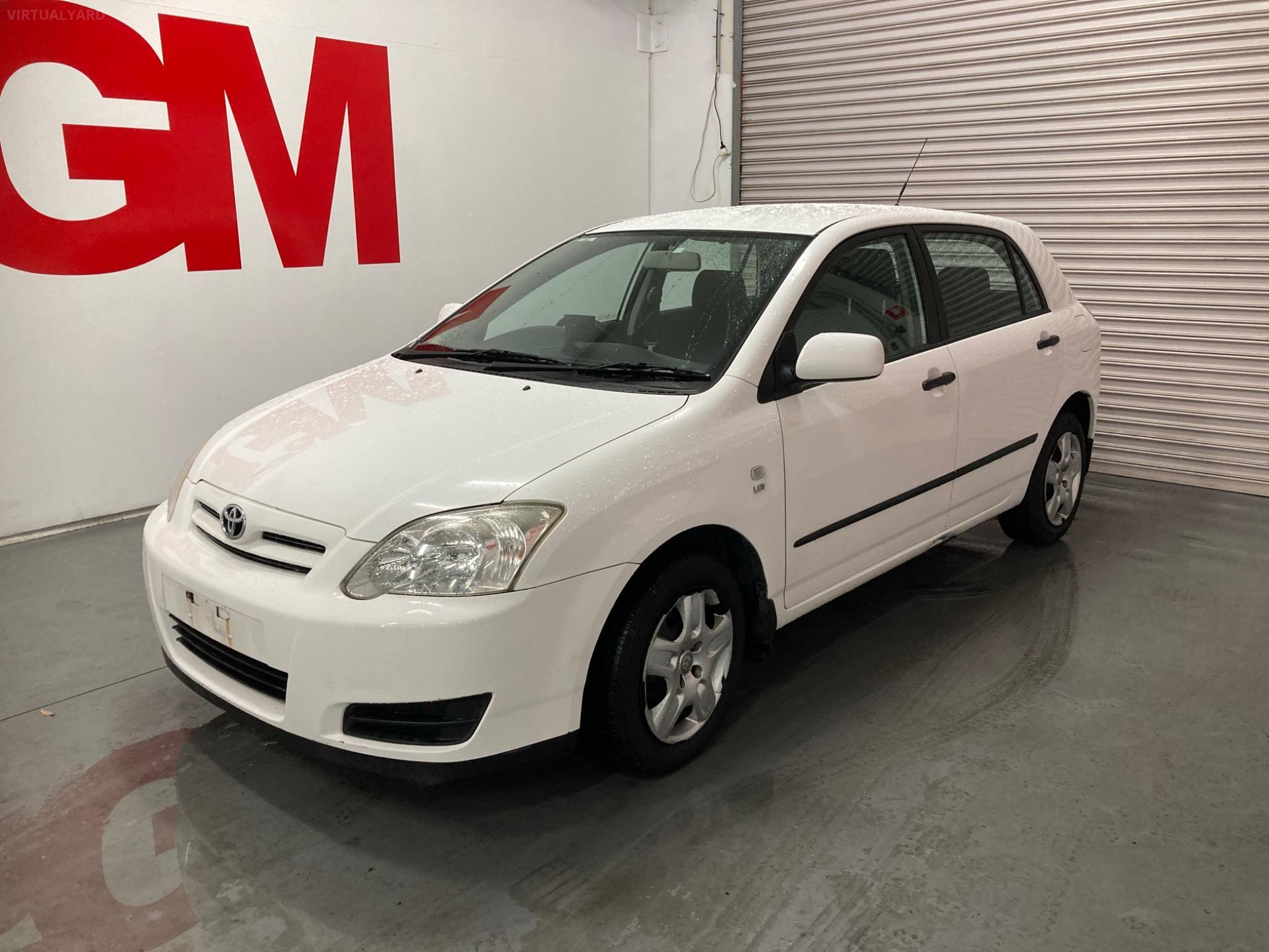 2004 Toyota Corolla ZZE122R 5Y Ascent Hatchback 5dr Auto 4sp 1.8i (May) Picture 8