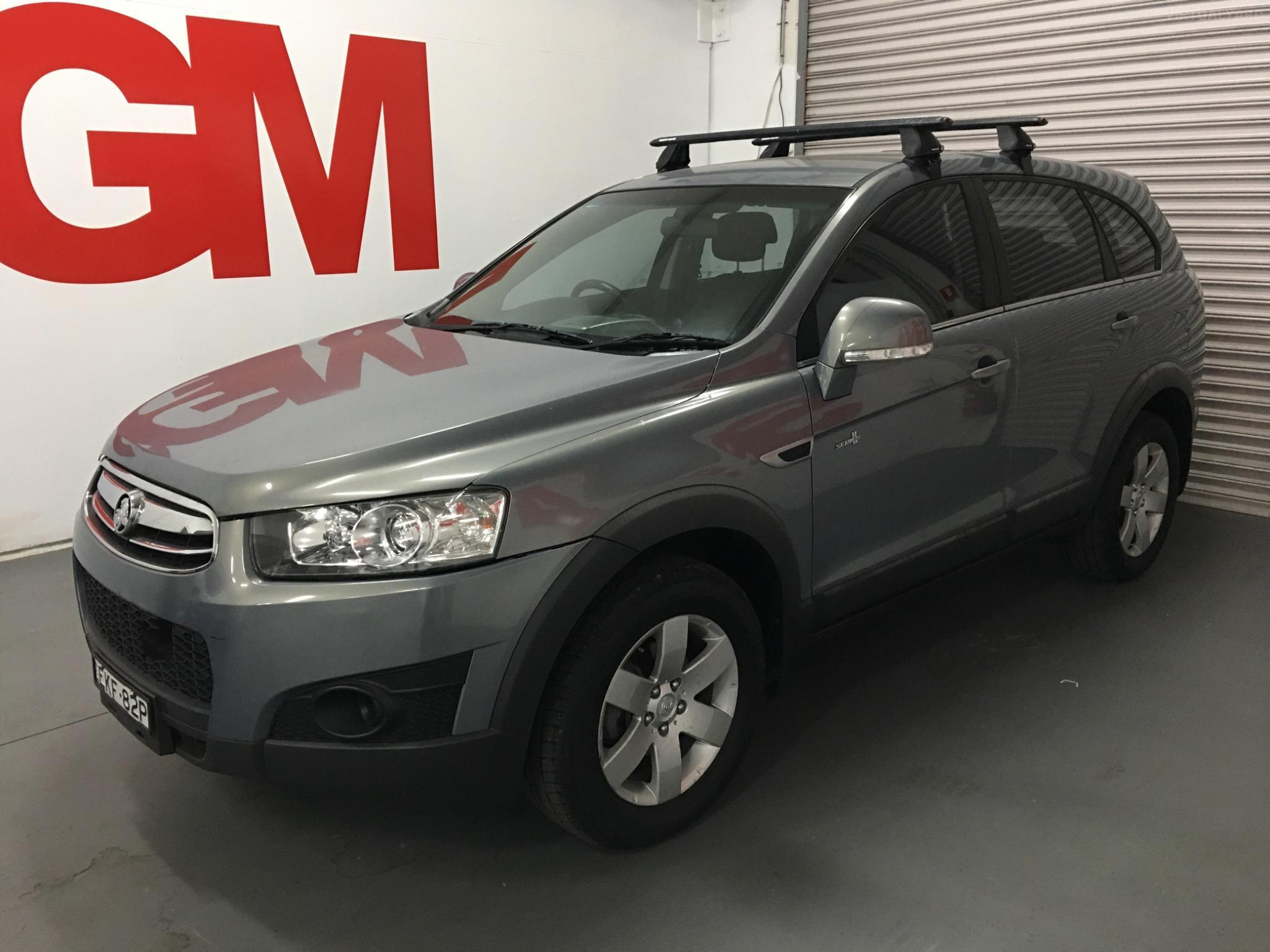 2011 Holden Captiva CG Series II 7 SX Wagon 7st 4dr Spts Auto 6sp 2.2DT (FWD) Picture 8