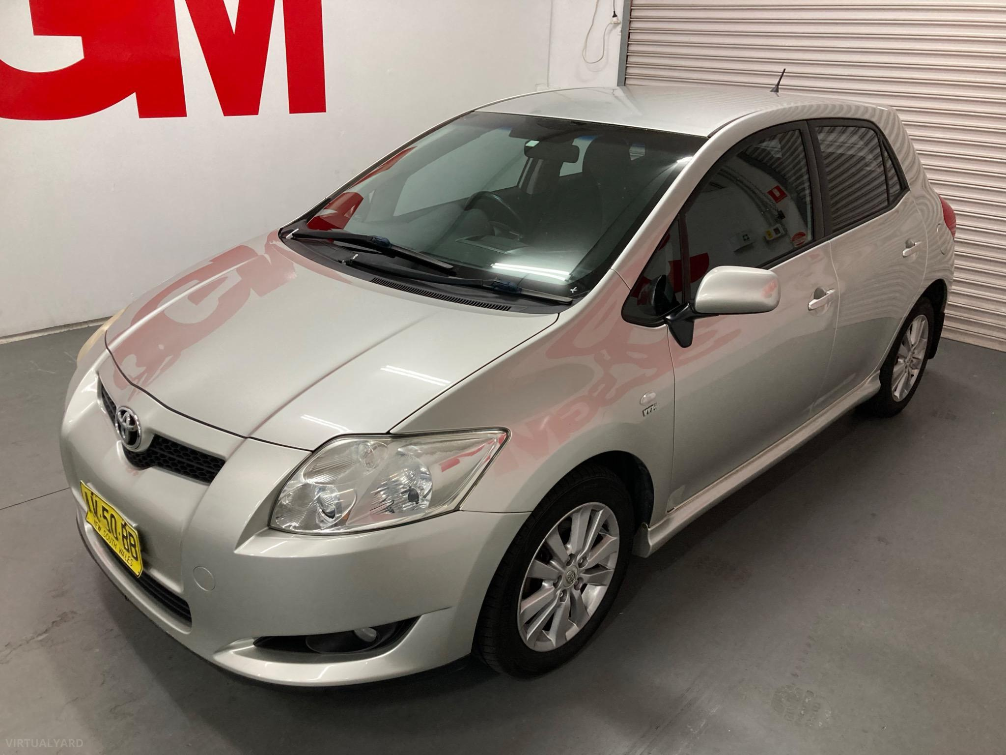 2007 Toyota Corolla ZRE152R Levin SX Hatchback 5dr Auto 4sp 1.8i Picture 8