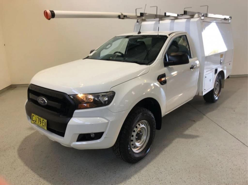 2016 Ford Ranger PX MkII XL Cab Chassis Single Cab 2dr Spts Auto 6sp 4x4 3.2DT Jun Picture 8
