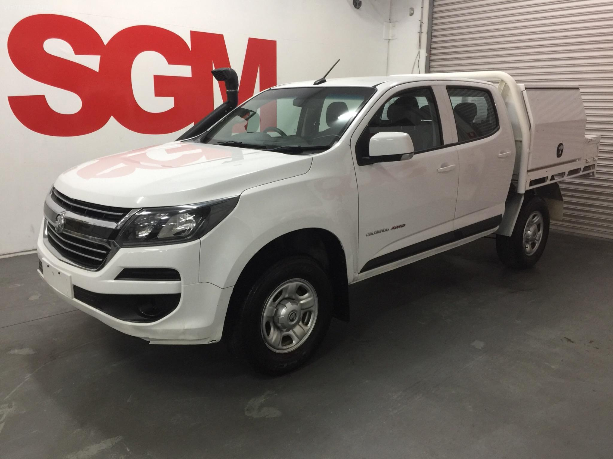 2017 Holden Colorado RG LS Cab Chassis Crew Cab 4dr Man 6sp 2.8DT Picture 8