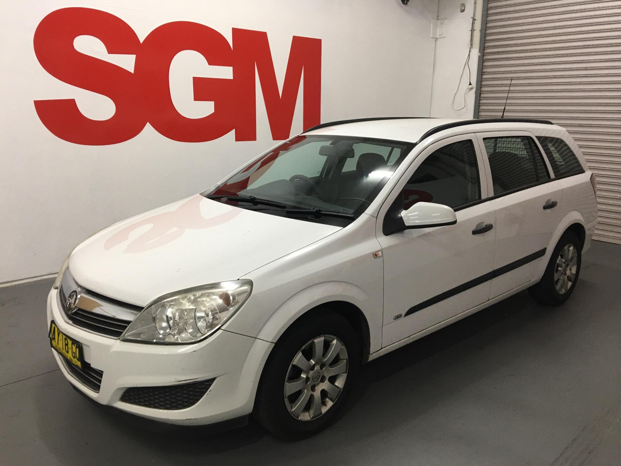 2008 Holden Astra AH CD Wagon 4dr Auto 4sp 1.8i Picture 8