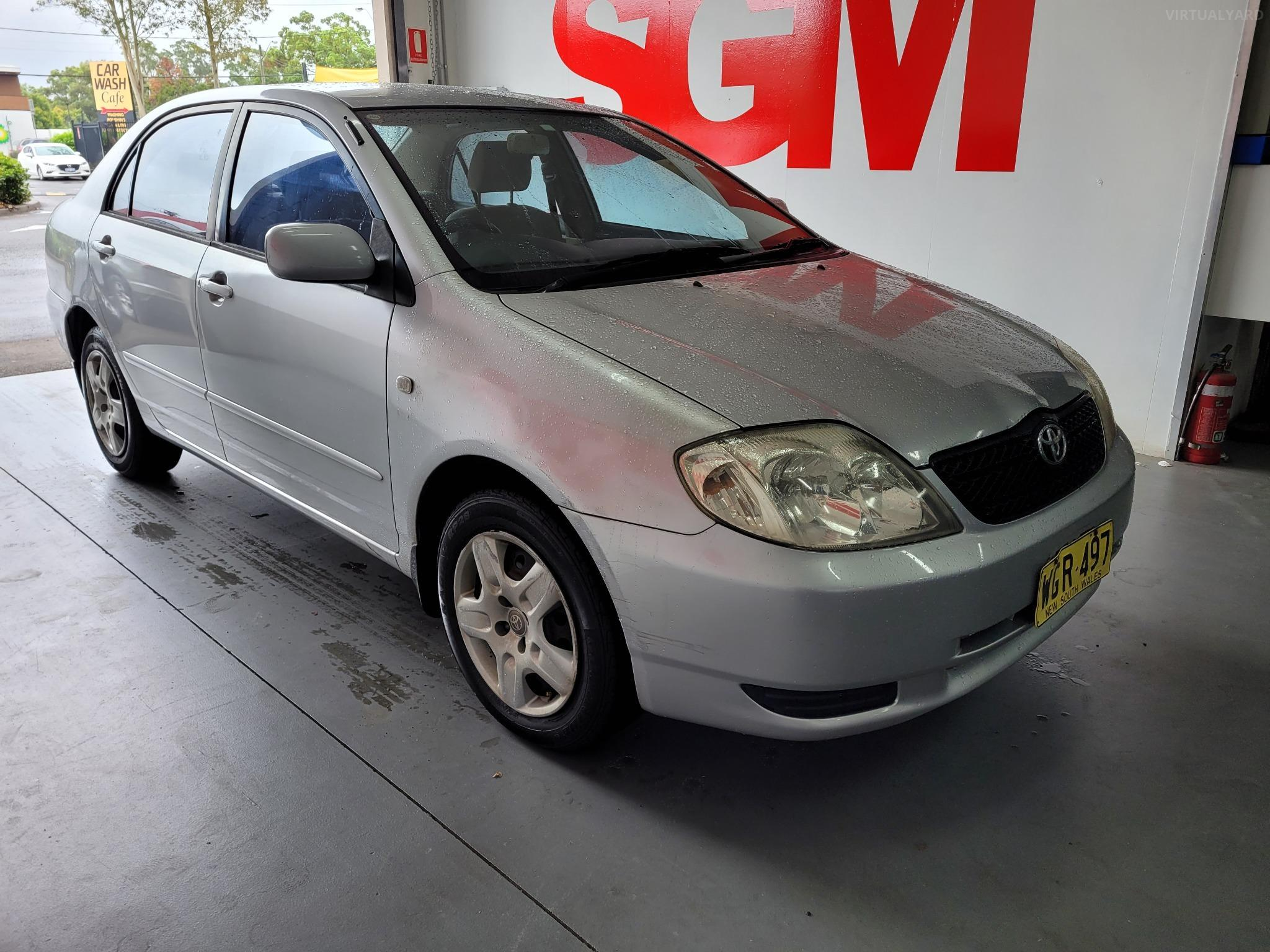 2001 Toyota Corolla ZZE122R 5Y Conquest Sedan 4dr Man 5sp 1.8i Picture 8