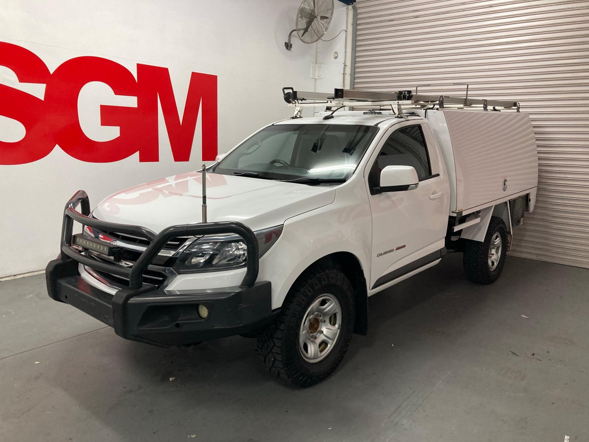 2016 Holden Colorado RG LS Cab Chassis Single Cab 2dr Spts Auto 6sp 4x4 2.8DT Picture 8