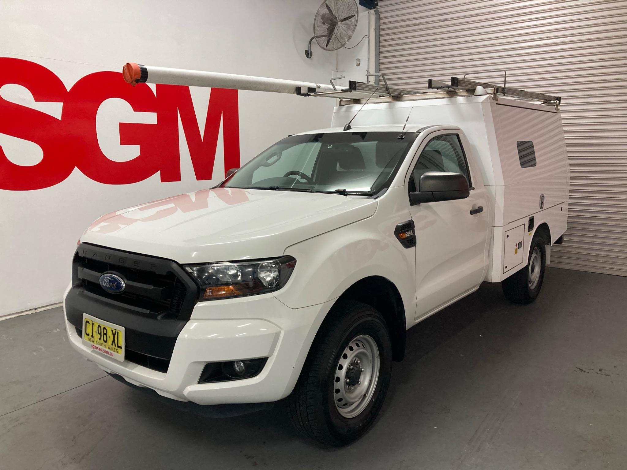 2016 Ford Ranger PX MkII XL Cab Chassis Double Cab 4dr Spts Auto 6sp 4x4 2.2DT Jun Picture 8