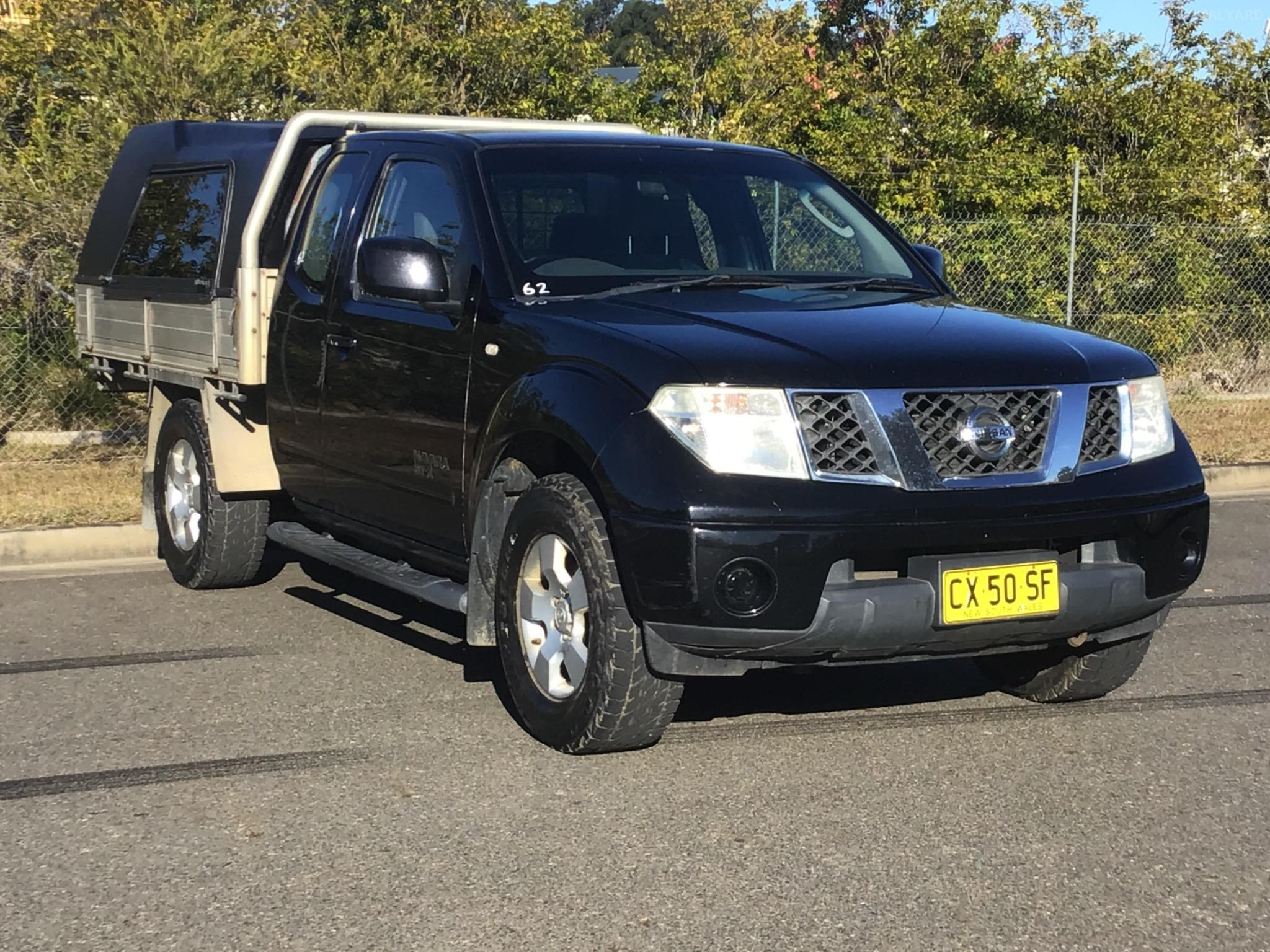 2009 Nissan Navara D40 ST-X Cab Chassis King Cab 4dr Man 6sp 4x4 2.5DT Picture 8