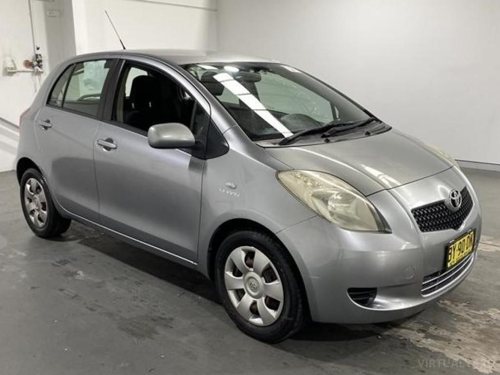 2007 Toyota Yaris NCP91R MY09 YRS Hatchback 5dr Man 5sp 1.5i Picture 8