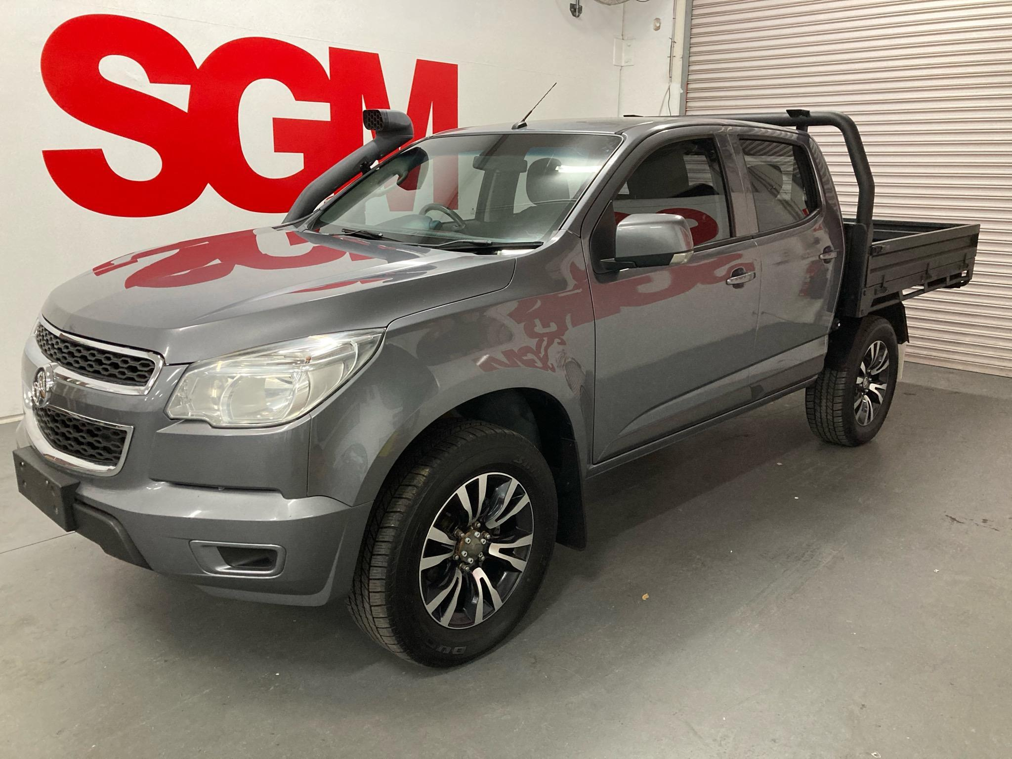 2016 Holden Colorado RG LS Cab Chassis Crew Cab 4dr Man 6sp 4x4 2.8DT MY16 Picture 8