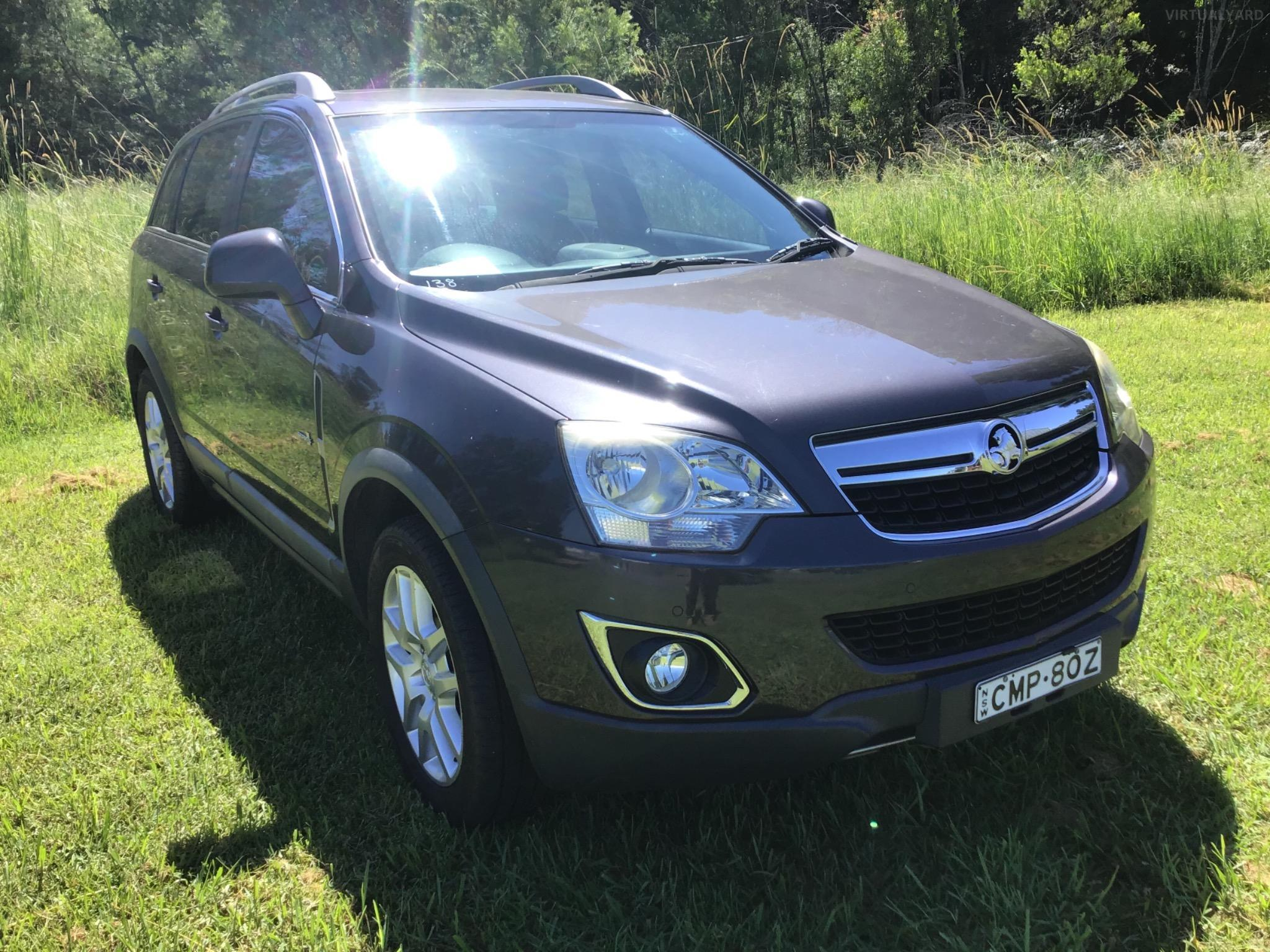 2013 Holden Captiva CG 5 Wagon 4dr Spts Auto 6sp 4x4 2.2DT Picture 8