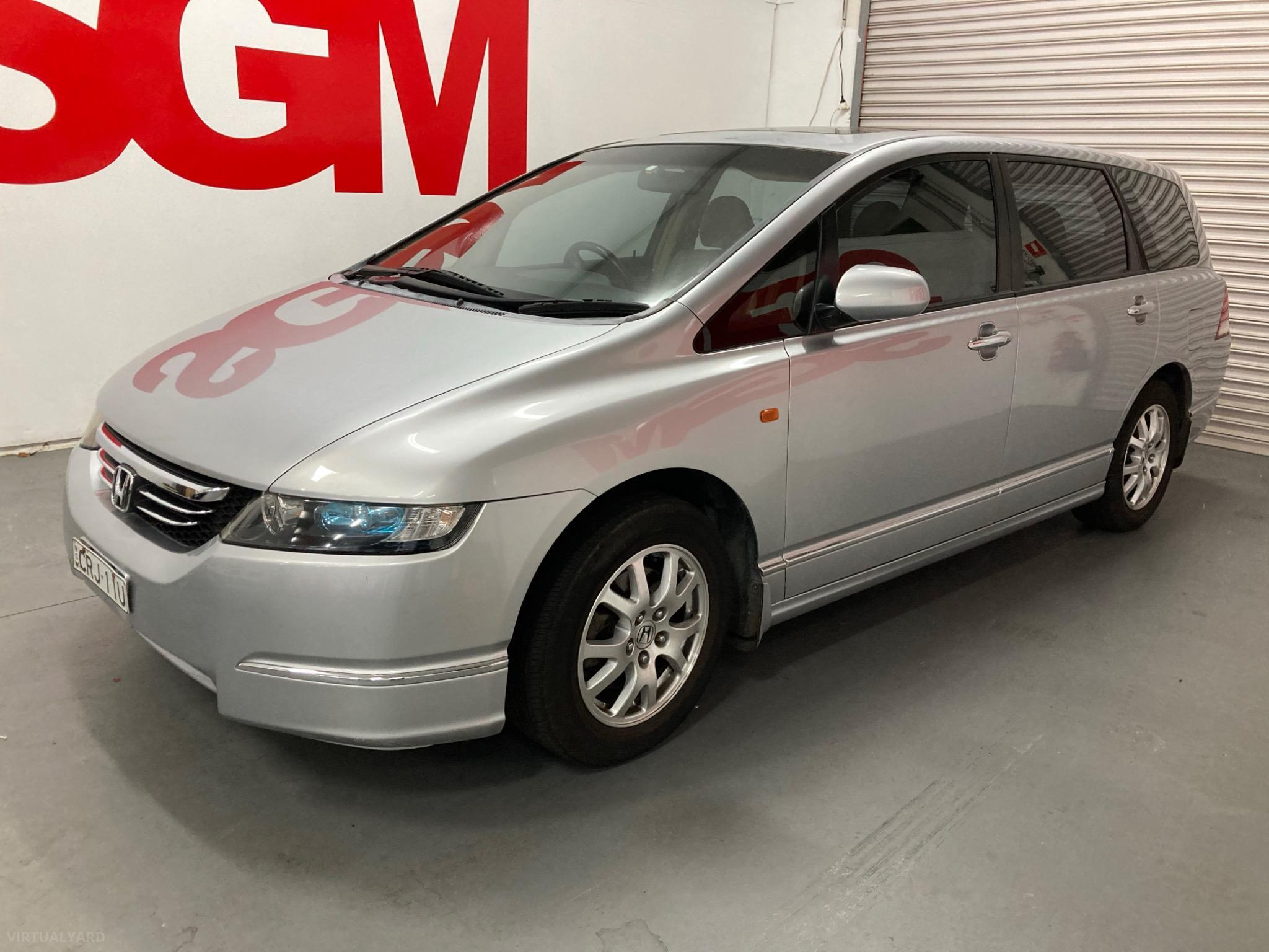 2006 Honda Odyssey 3rd Gen Luxury Wagon 7st 5dr Spts Auto 5sp 2.4i Picture 8