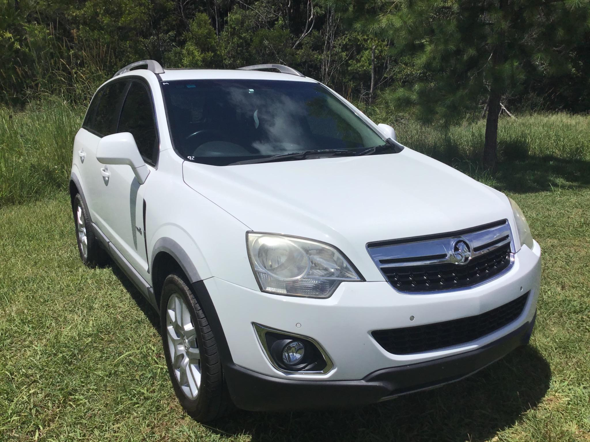 2012 Holden Captiva CG Series II 5 Wagon 4dr Spts Auto 6sp 2.4i (FWD) Picture 8