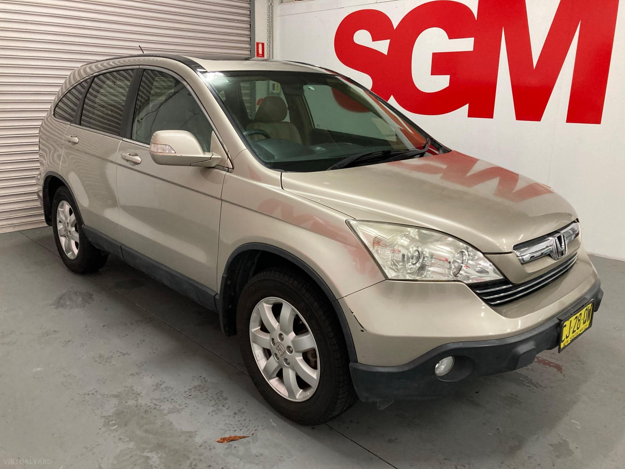2007 Honda CR-V RE Luxury Wagon 4dr Man 6sp 4x4 2.4i Picture 8