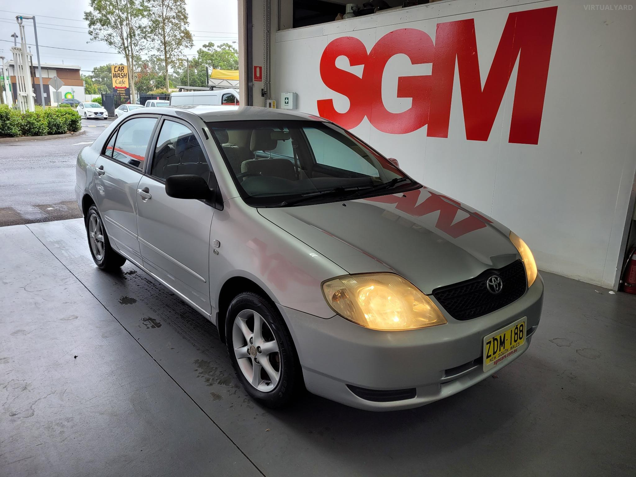 2003 Toyota Corolla ZZE122R 5Y Conquest Sedan 4dr Man 5sp 1.8i Picture 8