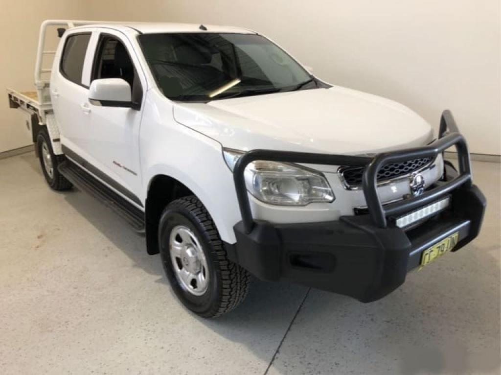 2015 Holden Colorado RG LS Cab Chassis Crew Cab 4dr Man 6sp 4x4 2.8DT Picture 8