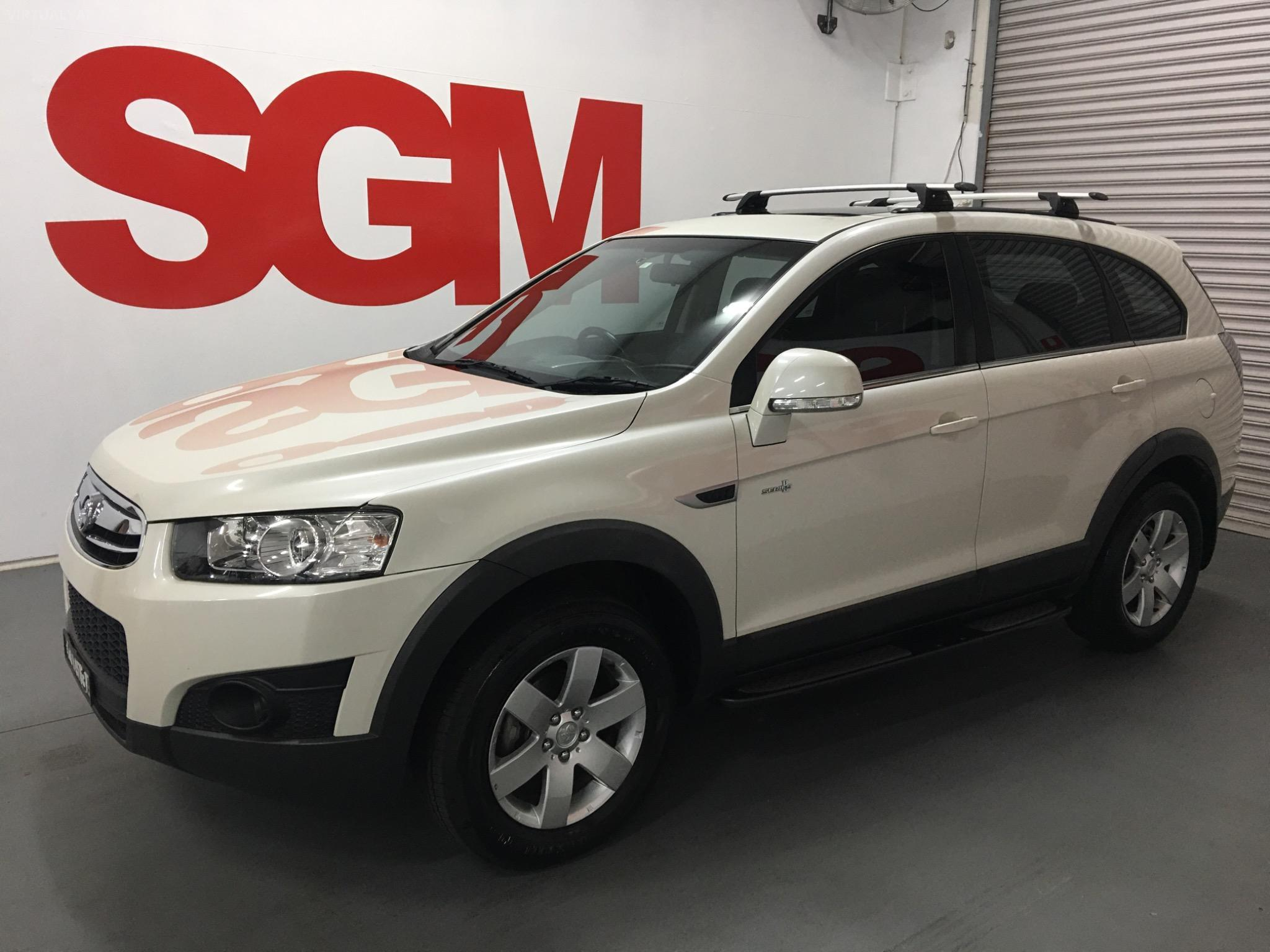 2012 Holden Captiva CG Series II 7 SX Wagon 7st 4dr Spts Auto 6sp 2.2DT (FWD) Picture 8