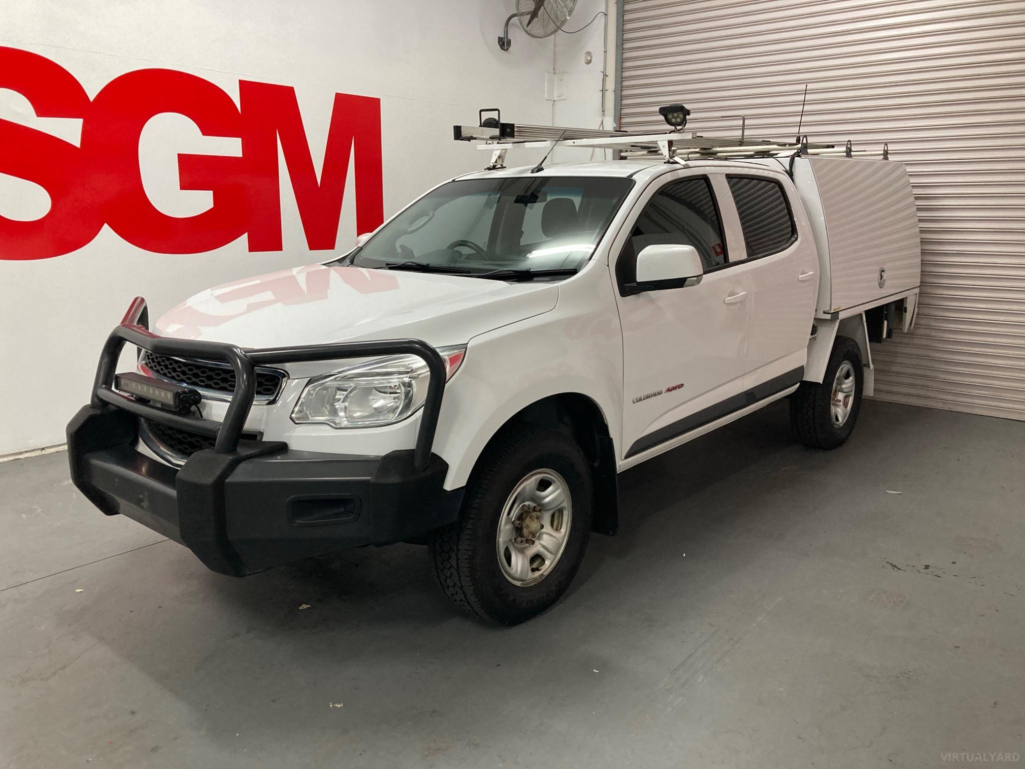 2016 Holden Colorado RG LS Cab Chassis Crew Cab 4dr Spts Auto 6sp 4x4 2.8DT MY16 Picture 8